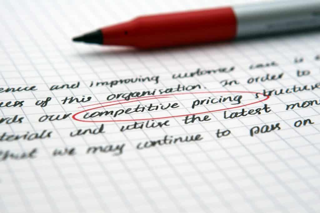 השוואת מחירים בין חברות שונות