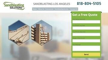 sandblasting-אתרים שבנינו